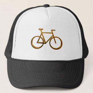 Golden Bicycle Design Trucker Hat