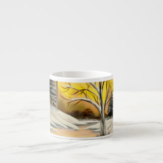 Golden Birch Winter Mirage Espresso Cup