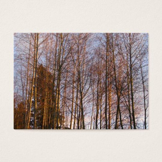 Golden Birches Business Card