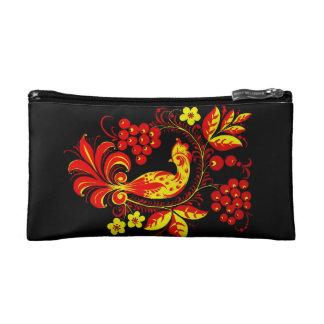Golden Bird Cosmetic Bag