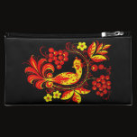 Golden Bird Cosmetic Bag