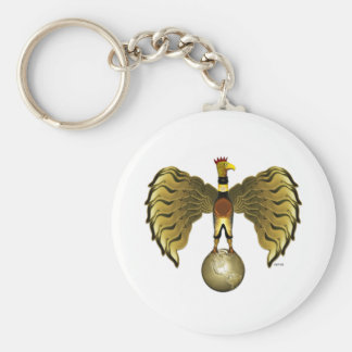 Golden Bird Keychain