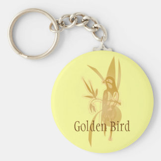 Golden Bird Key Chains