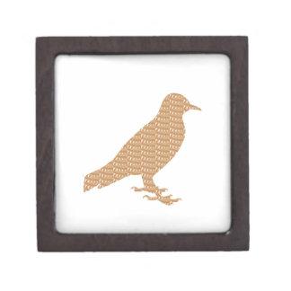 GOLDEN Bird: Pet Kids Zoo Play Decoration lowprice Premium Keepsake Box