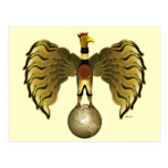 Golden Bird Postcard