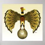 Golden Bird Posters
