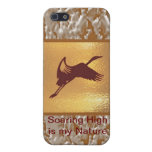 Golden Bird - Soaring High is my nature iPhone 5/5S Case