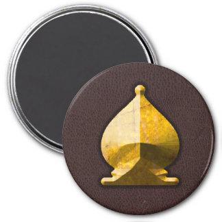 Golden Bishop - Zero Gravity Chess (SLG) Fridge Magnet