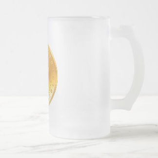 Golden Bitcoin Promotional Mug