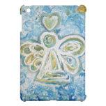 Golden Blue Angel iPad Case