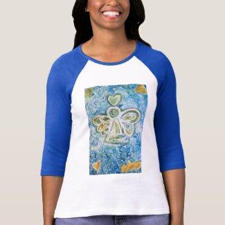 Golden Blue Angel T-shirt (Front)