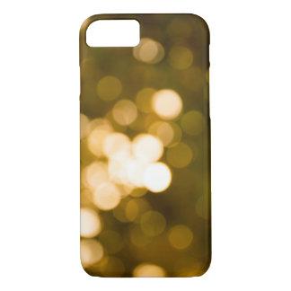 Golden blur bokeh for case phone