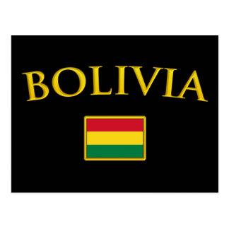 Golden Bolivia Postcard