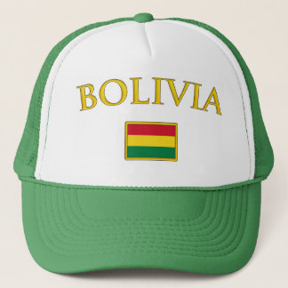 Golden Bolivia Trucker Hat