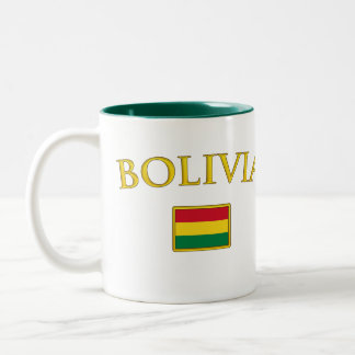 Golden Bolivia Two-Tone Coffee Mug