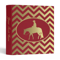 Golden/Bordeaux Pleasure Horse Binder