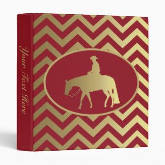 Golden/Bordeaux Pleasure Horse Binder