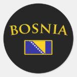 Golden Bosnia Sticker
