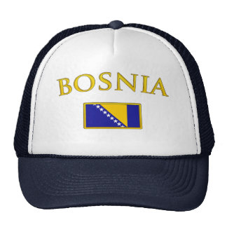 Golden Bosnia Trucker Hat