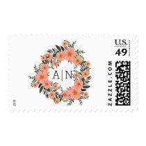 Golden Bracket Postage Stamp