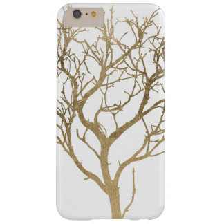 Golden Branches Barely There iPhone 6 Plus Case