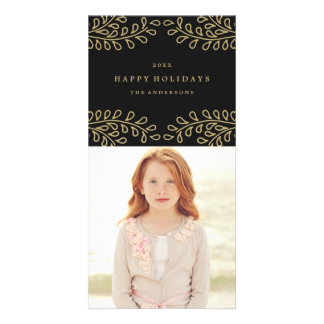 Golden Branches Collection Card
