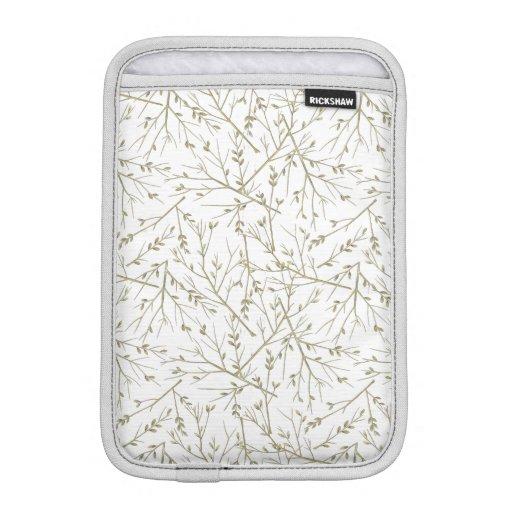 Golden branches iPad mini sleeve