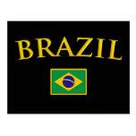 Golden Brazil Post Cards