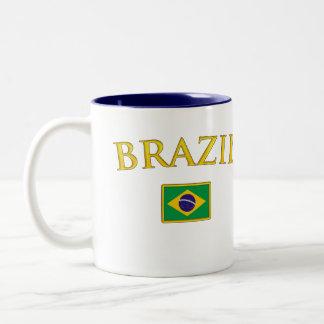 Golden Brazil Two-Tone Coffee Mug