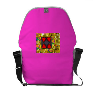 Golden Bricks  Messenger Bag