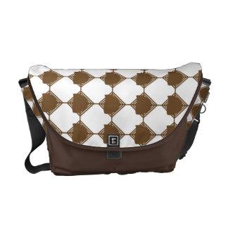 Golden Brown Dridge Bag Messenger Bag