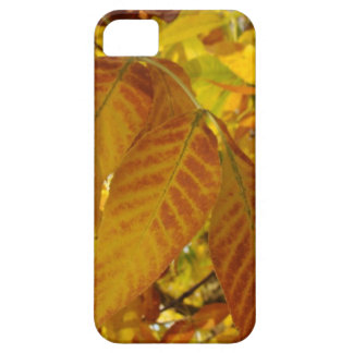 Golden Brown Leaves iPhone SE/5/5s Case