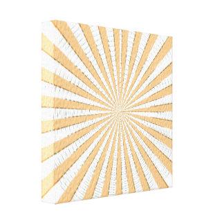 Golden Brown Patterns Canvas Print