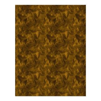 Golden Brown Satin Texture Scrapbook Paper