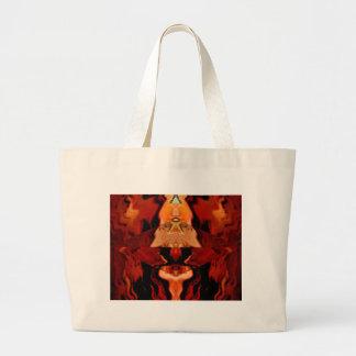Golden Brown Spirit World - Healing Patterns V1 Tote Bag