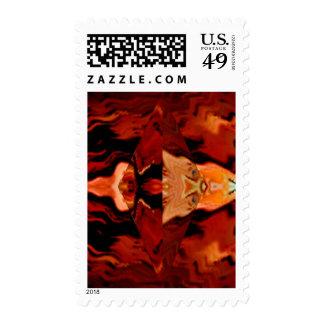 Golden Brown Spirit World - Healing Patterns V1 Stamps