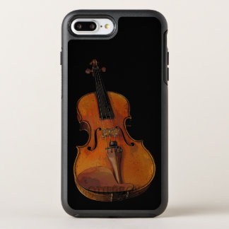 Golden Brown Violin OtterBox Symmetry iPhone 7 Plus Case