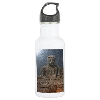 Golden budda stainless steel water bottle