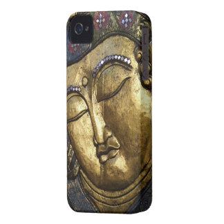 Golden Buddha Blessing Inspirational Love iPhone 4 Case
