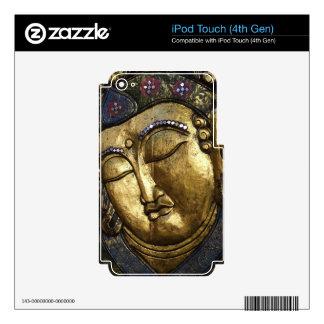 Golden Buddha Blessing Inspirational Love iPod Touch 4G Skins