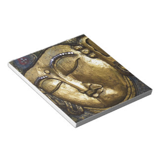 Golden Buddha Blessing Inspirational Love Note Pad