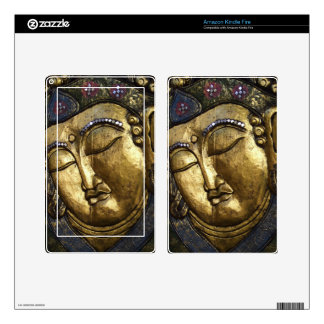 Golden Buddha Blessing Inspirational Love Skins For Kindle Fire