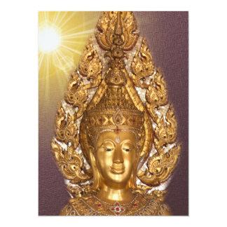 golden buddha card