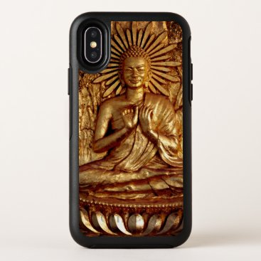 Golden Buddha, Compassion & Blessing (mobile) OtterBox Symmetry iPhone XS Case
