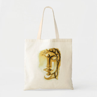 GOLDEN BUDDHA FACE Budget Tote