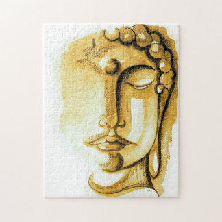 GOLDEN BUDDHA FACE Puzzle 252 PIECES