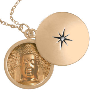 Golden Buddha Gold Chain Necklace