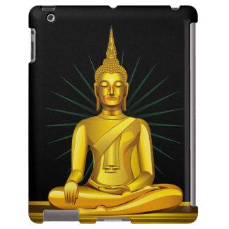 Golden Buddha iPad Case