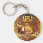 Golden Buddha - Keychain