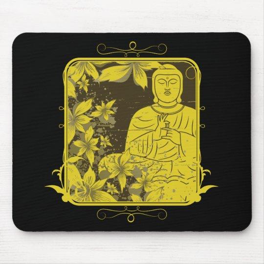 Golden Buddha Mouse Pad